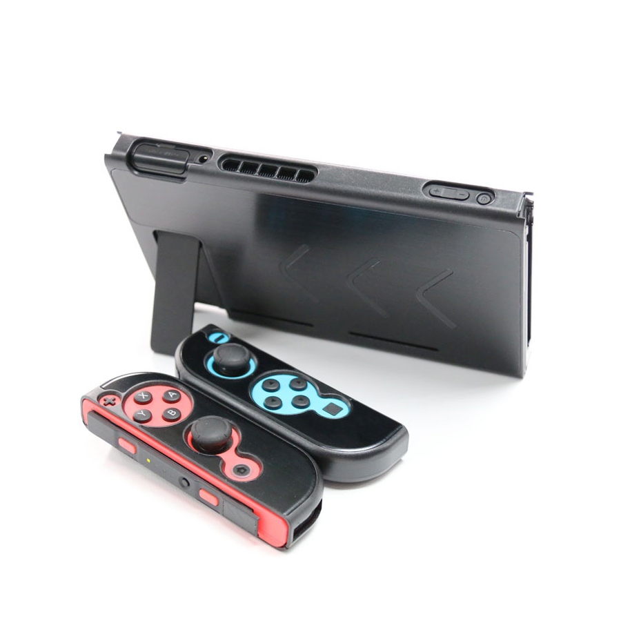Nintend Accessories 5 Colors Hard Metal Nintend Console Case Shockproof Protective Cover for Nintend Switch NS Console Joy-con 4