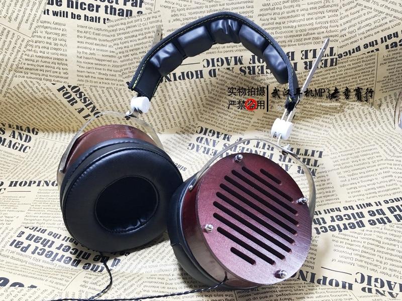 50mm headphone shell headset housing wooden shell