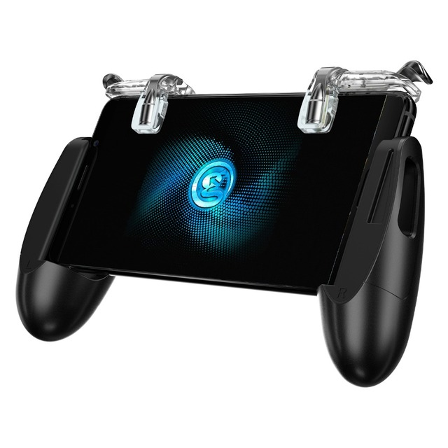 GameSir F2 Gamepad Firestick Grip for Android & iOS Phone, Game Mount Bracket Pubg mobile Trigger Fire Button Aim Key,