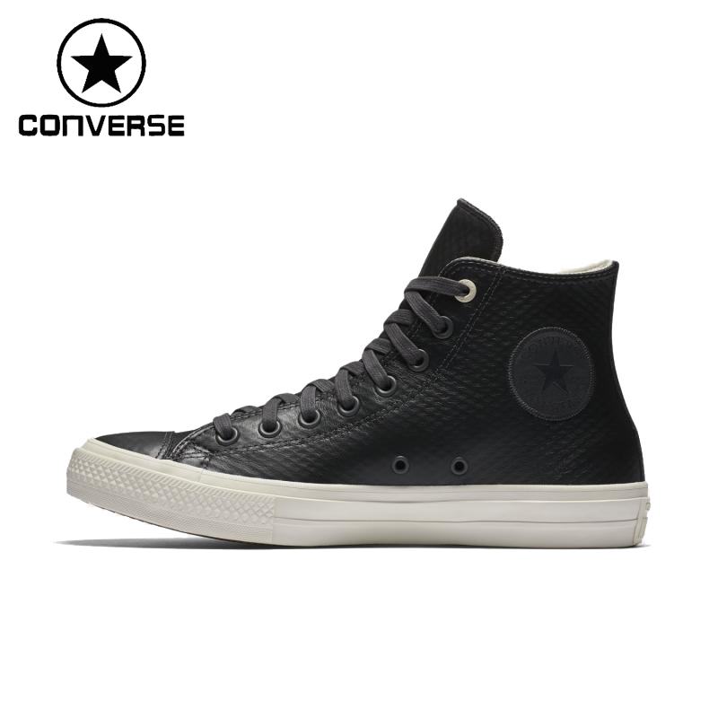 Original New Arrival Converse ALL STAR Unisex Leather Skateboarding Shoes Sneakers ...