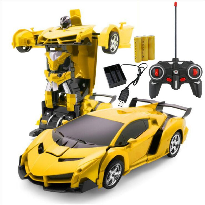 Christmas Sports Car.Us 14 05 25 Off Rc Car Transformation Robots Sports Vehicle Model Robots Toys Cool Deformation Car Kids Toys Christmas Gifts For Boys In Rc Cars