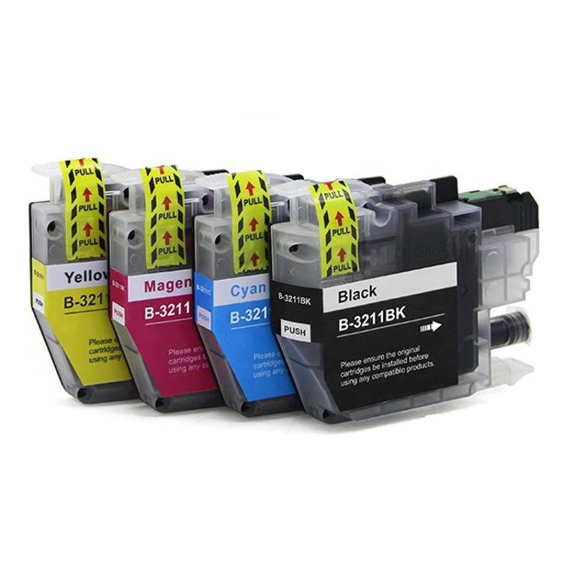 vilaxh LC 3211 Ink Cartridge For Brother LC3211 DCP-J772DW DCP-J774DW MFC-J890DW MFC-J895DW Printer Cartridges