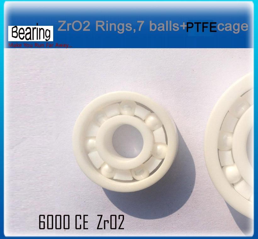ZRO2 Ceramic bearing 6000 ceramic bike repair bearing 1 piece zro2 full ceramic bearing 6003 17x35x10mm ceramic bike repair bearing 1 piece