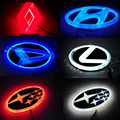 1*Car Styling Fashion 4D LED Logo Badge Emblems Sticker Light Tail Lamp For S-u-baru Forester/Hyundai I30/Lexus/Renault/Daihatsu
