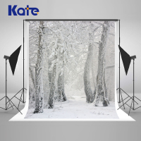 Kate Winter Photography Backdrops Princess Snow Tree Frozen Christmas Backdrops For Photography Photo Backdrop Scenery