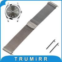 18mm 20mm 22mm Milanese Loop Strap For Rolex Stainless Steel Watch Band Magnetic Bracelet Quick Release