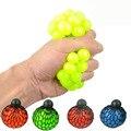 Nueva Divertido juguetes Antiestrés Relevista Bola Uva Autismo Relief Saludable Squeeze Juguetes Divertidos Humor Geek Gadget para Halloween Bromas