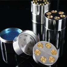 Top Quality 1PC Stainless Steel Bullet Shape Metal Herbal He