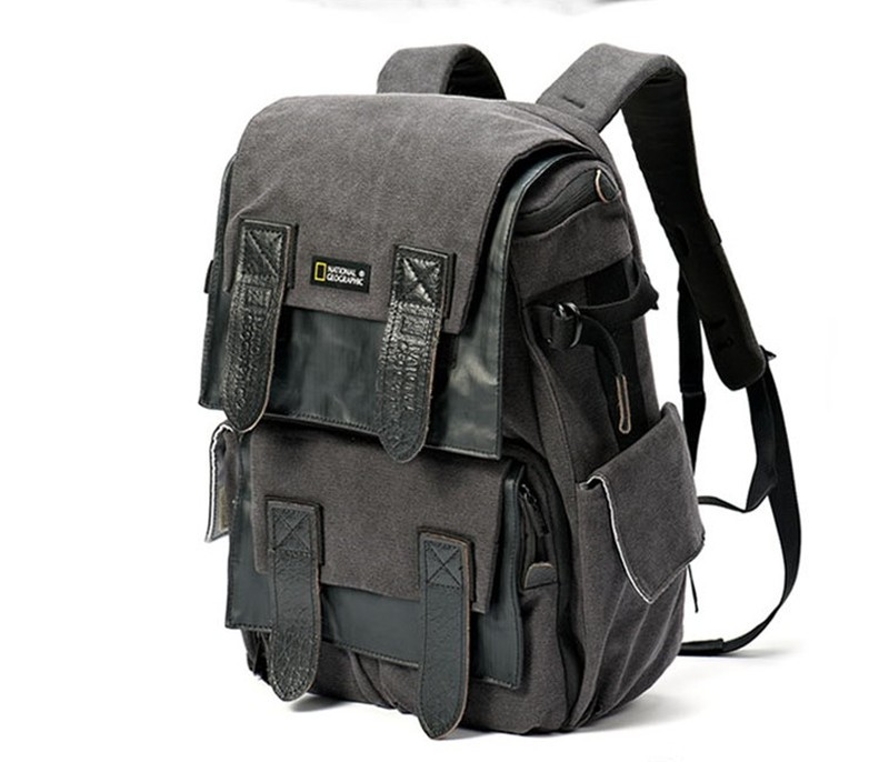 ФОТО NATIONAL GEOGRAPHIC NG W5071 DSLR camera rucksack NG W5071 Travel 15.6 inch laptop canvas Tripod photo Backpack