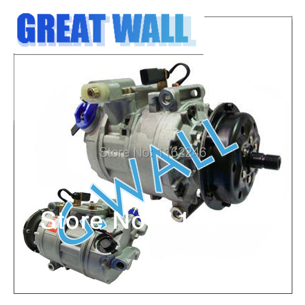 AC Compressor For Car Volkswagen Pheaton / VW Touareg / Transporter Multivan T5 /Transpo ...