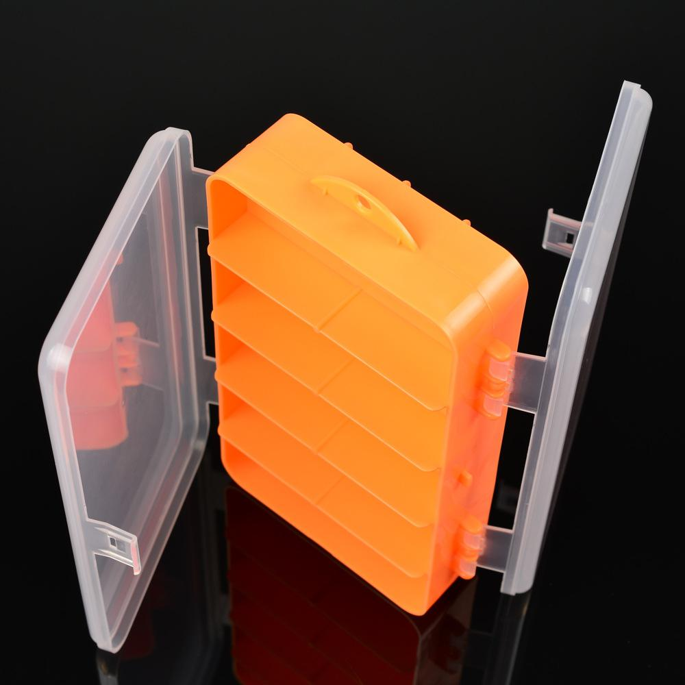 HobbyLane New 16 Compartments Fishing Tackle Box Bait Lure Hooks Storage Case Fishing Tool Tackle Sorting Box for Pesca(China)