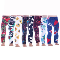 ZXZ  8color  Printed leggings for Dolls - Leggings for 18 inch American girl Dolls