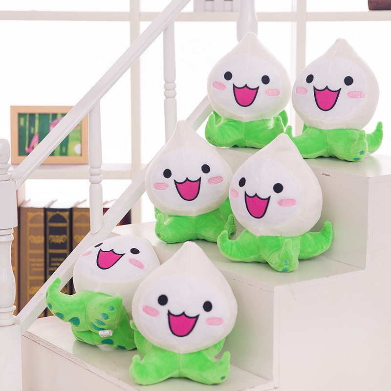 1PC 20CM Over Game Watch Pachimari Plush Toys Soft OW Onion Small Squid Stuffed Plush Doll Cosplay Action Figure Kids Toy 2