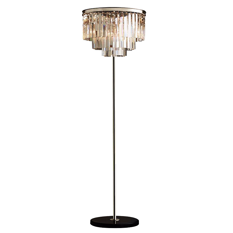Modern Crystal Floor Lamp for study room reading led Standing Lamp table desk light Living Room Floor light E14 Led  Lambader Floor Lamps     - title=
