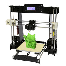 hot deal buy normal & auto level anet a8 a6 diy 3d printer kit reprap prusa i3 large cheap 3d printers with 0.5kg / 1kg filament