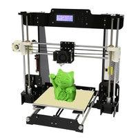 Normal Auto Level Anet A8 A6 DIY 3D Printer Kit Reprap Prusa I3 Large Cheap 3D