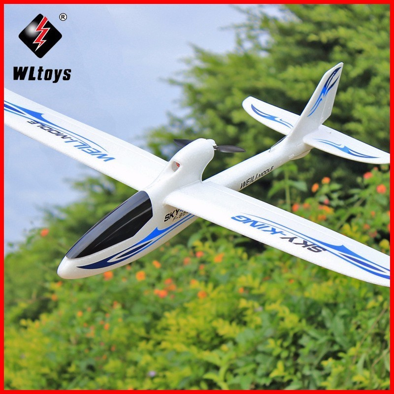 WLtoys F959 RC Airplane Sky King 2.4G 3CH N60 Motor RC Aircraft Wingspan RTF Remote Control Airplane LCD Transmitter Drones Toys pt 17 trainer remote control aircraft aeromodelling 4 ch 2 4ghz stearman pt 17 rc bi plane airplane pnp and kit