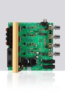 Image 3 - 100W + 100W 2.0 Audio bordo Dellamplificatore di Potenza HIFI stereo di amplificazione digitale riverbero microfono amplificatore Bordo Tono