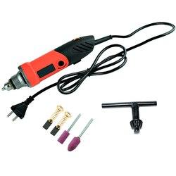 SHGO HOT 480W Mini wiertarka elektryczna grawer z 6 pozycji zmiennej prędkości obrotowy elastyczny wałek i szlifowanie elektronarzędzi  ue Pl w Frezarki do drewna od Narzędzia na