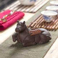 Tea Pet 2017 New Coffee Tea Tools Zisha Tea Pet Lucky Money Kung Fu Tea Accessories