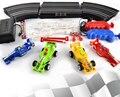 F1 coche de carreras de alta velocidad Eléctrica pista pista set ranura juego de carreras de coches rc juguetes niños regalos
