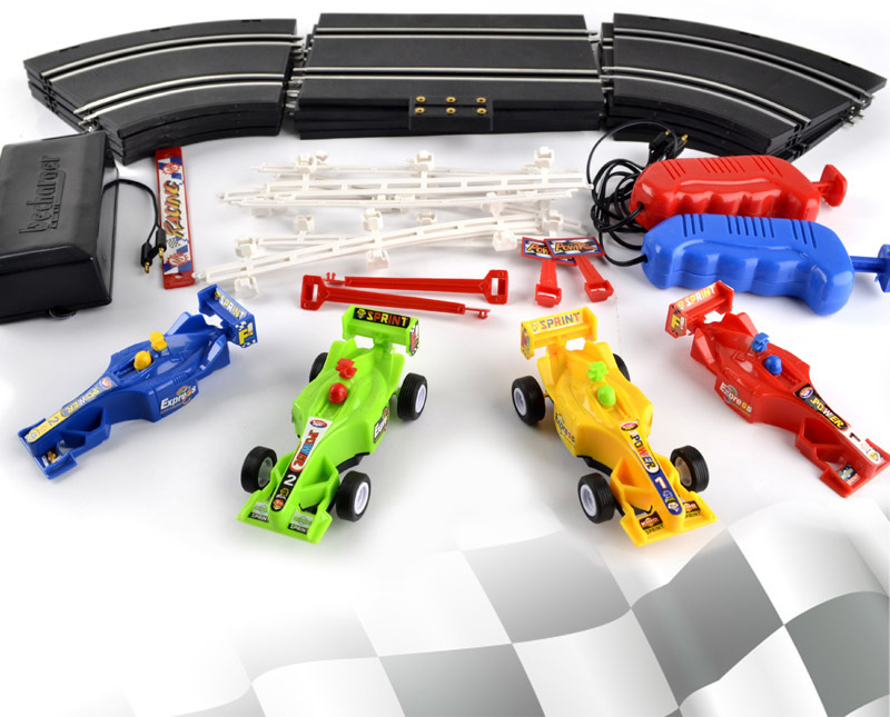 High Sd Electric F1 Car Racing Track Set Slot Rc Toys Boys Gift
