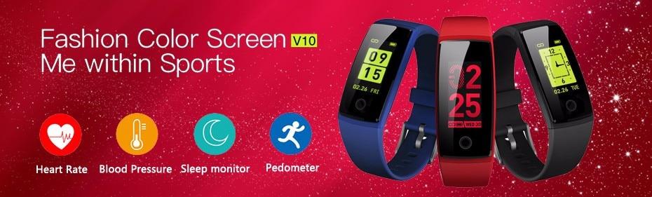 Smartband ID115 Smart Bracelet Fitness Tracker Step Counter Activity  Monitor Band Vibration Wristband pk FitBits Mi Band 2 ID107