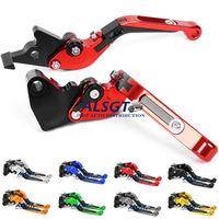 For Honda CBR 125R CBR 150R 2004 2012 2005 2006 2007 2012 Aluminum CNC Adjust Folding Extendable Moto Clutch Brake Levers