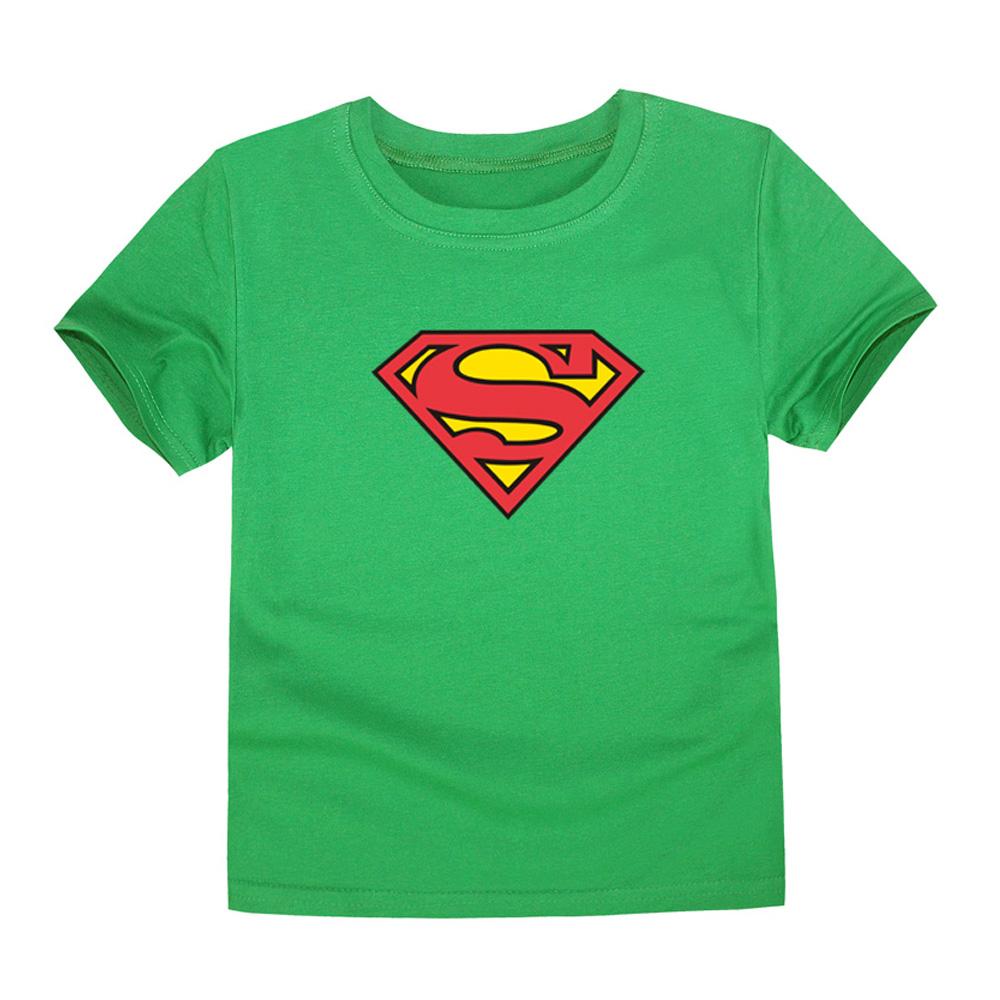 HTB1ca9MQVXXXXb3XXXXq6xXFXXXw - TINOLULING 2018 Kids Superman T-Shirt Boys Girls Batman T Shirt Children Tops Baby Tees For 2-14 Years