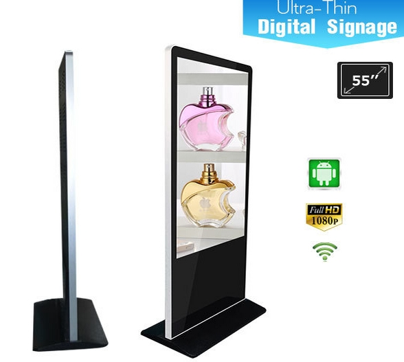 42/47/55inch Ultra Thin Wifi Advertising LG Led Lcd Tv Display Signage Kiosk Advertising Screens CCTV Monitor Display