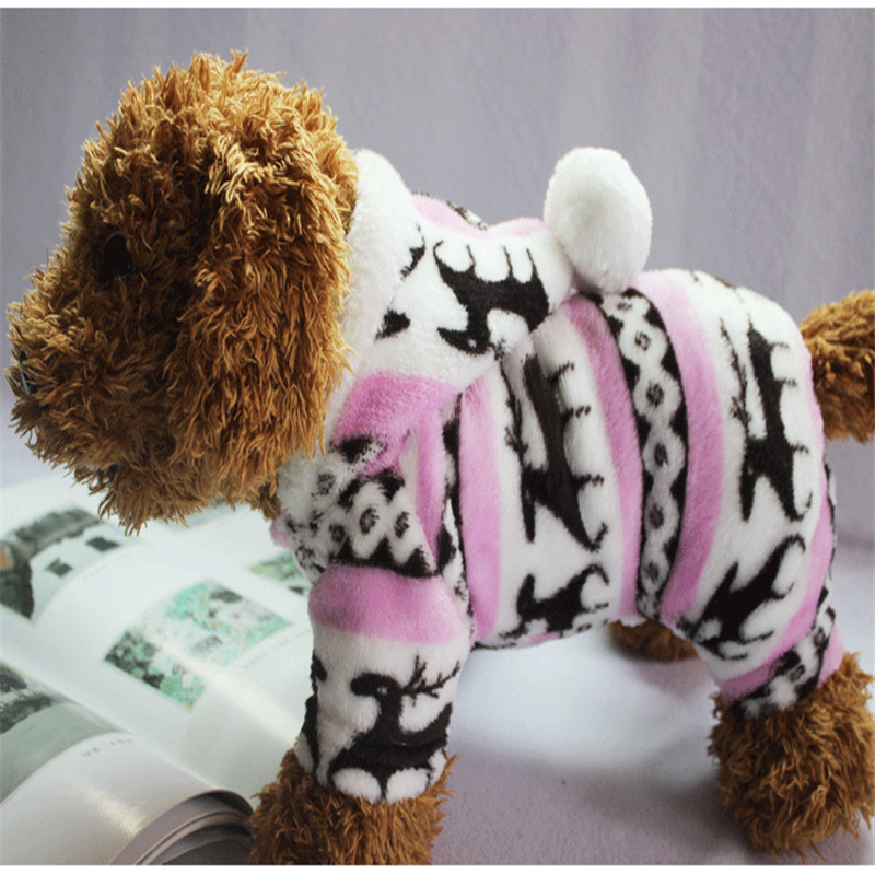 The-New-Autumn-And-Winter-Snowflake-Soft-Fleece-Dog-Clothes-Pet-Dog-Dress-Pattern-Coral-Velvet(7)