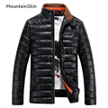 Mountainskin Winter Men's Jackets Male Cotton Down Coat Fashion Warm Men Parkas Thermal Thick Solid Jacket Brand Clothing LA059