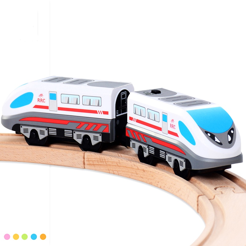 Children Electric Train Toys Compatible With Thomas Tracks Railway Track Magnetic Electric Vehicle Toy Birthday Gifts For Kids
