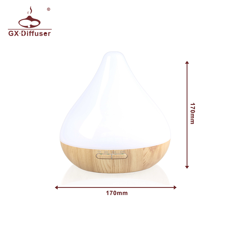 GX Diffuser 12W Air Humidifier Ultrasonic Aromatherapy For Essential Oil Humidifier Air Aroma Diffuser Scent Diffuser For House in Humidifiers from Home Appliances