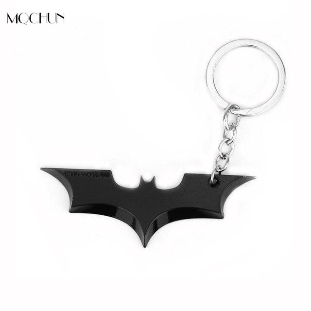mqchun dc comics superhero batman keychain men trinket super hero