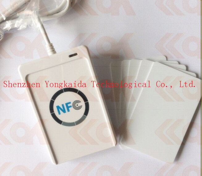 Wholesale ACR122U-A9 13.56Mhz PC-linked Contactless Smart RFID Card Reader and Writer acr122u a9 13 56 mhz pc linked contactless smart rfid card reader writer