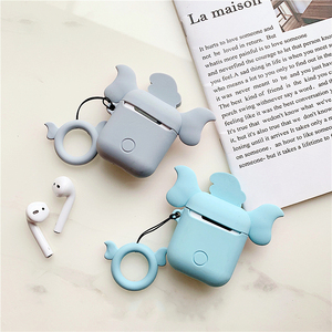Image 5 - 3D Cartoon Dumbo silicone airpods case for Apple Airpods1/2 Wireless Bluetooth Charging Headphones Earphone Protective Box Cover