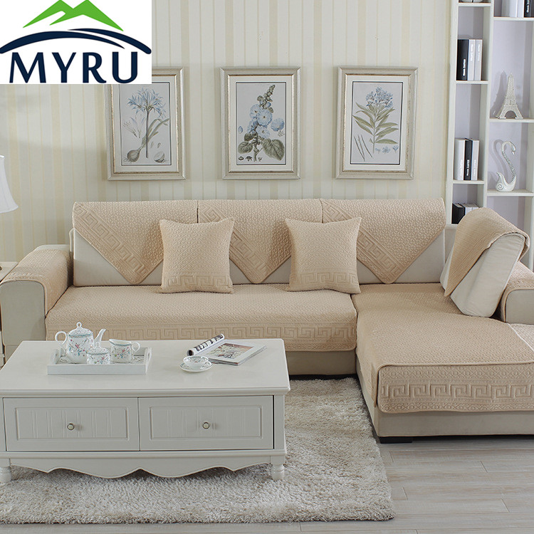 myru hot sale sofa covers slip resistant sofa towel sofa slipcover pattern covers for sofa in. Black Bedroom Furniture Sets. Home Design Ideas