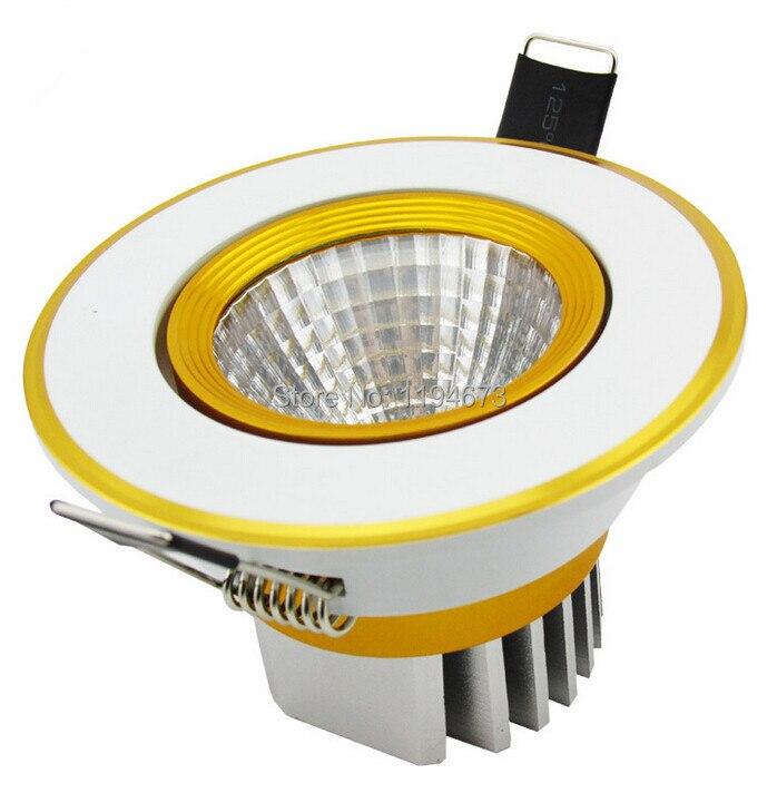 Wholesale10w затемнения теплый белый холодный белый поверхностного монтажа вел потолочный светильник Встраиваемый светильник лампы светодиодн...