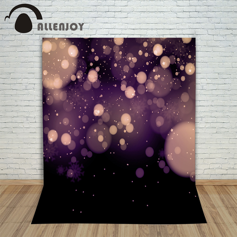 цены  Allenjoy photography background Romantic Purple Void Bubbles Stars are blinking photocall background photography with backdrop