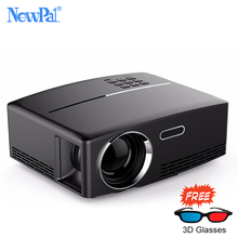 Newpal GP80 Projektor 1800 Lumen FÜHRTE Projektor TV Media Player HDHome Theater (Android WIFI Option) Mini Beamer Proyector