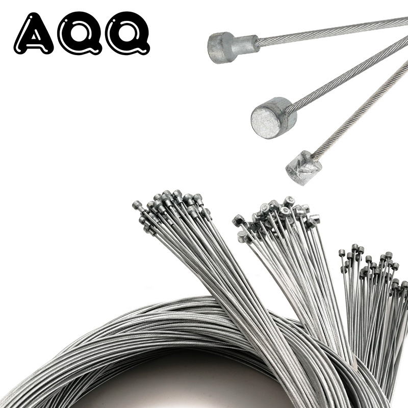 1Pcs 5Pcs MTB Bike Road Bike Bmx Bicycle Brake Line Bicycle Speed Line Fixed Gear Shifter Gear Brake Cable Sets Core Inner Wire