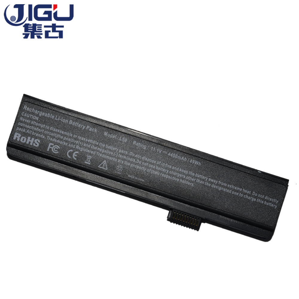 JIGU Laptop Battery 3S4000-G1S2-04 ,Pi1505 L50-3S4400-S1S5  G1P3 L50-3S4000-G1L1 S1P3 4S2200-C1L3 For FUJITSU