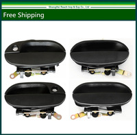 New Black Exterior Door Handle For 1995 1996 1997 1998 1999 Hyundai Accent (Front+Rear LH*2 ,RH*2) OE#: 8366022000/83660 22000