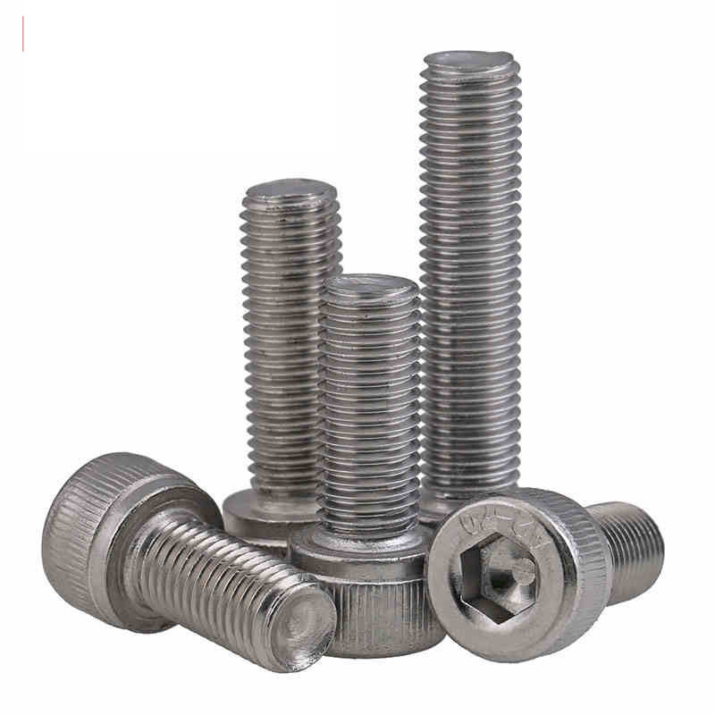 M10 x 1.25 x 80mm 304 Stainless Steel Metric Hex bolts//screws 2pc