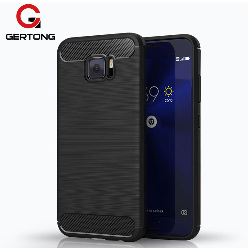 Silicone Carbon Fiber Phone Case for Asus Zenfone 4 Max ZC554KL ZE554KL Selfie Pro ZD552KL 4V V520KL Live ZB501KL AR ZS571KL