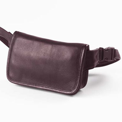Clava 3002 Wallet Waist Pack - Vachetta Cafe clava 709 hip to be square backpack vachetta cafe