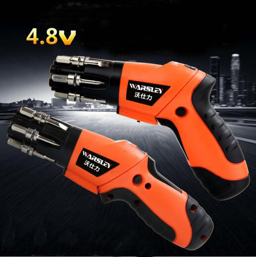 4.8V Electric screwdriver rechargeable screwdriver machine multi-functional rechargeable drill electric screwdriver