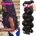 Iwish Hair Brazilian Body Wave Cheap Human Hair 3 Bundle Deals Grace Grade 7A Brazilian Unprocessed Virgin Hair Bundle Deals