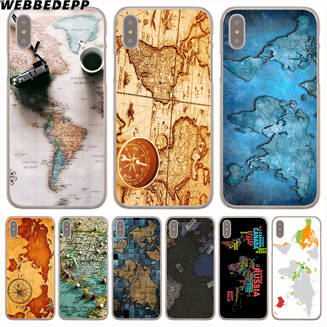 World map iphone 8 plus case gumiabroncs Gallery